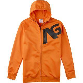 Analog Transpose , Safety Orange - Hoodie