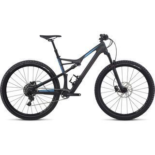 Specialized Camber FSR Comp Carbon 29 2017, carbon/blue - Mountainbike