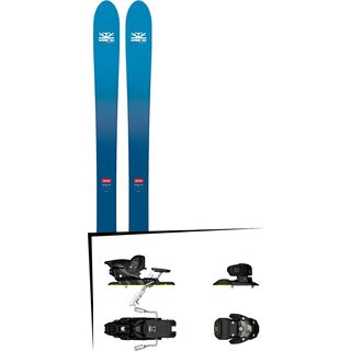 Set: DPS Skis Wailer F106 Foundation 2018 + Salomon Warden MNC 13 silver/black