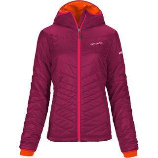 Ortovox Swisswool Jacket Piz Bernina, dark very berry - Thermojacke