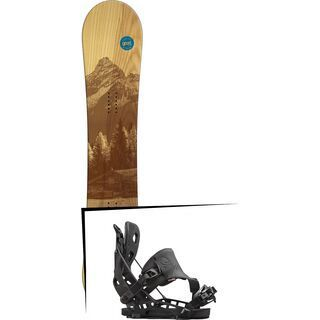 Set: goodboards Wooden 2016 + Flow NX2 Hybrid (1513124S)