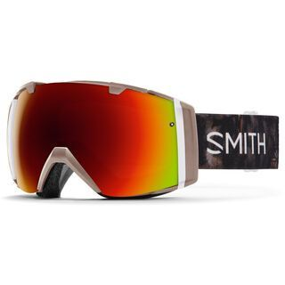 Smith I/O inkl. Wechselscheibe, angel id/Lens: red sol-x mirror - Skibrille