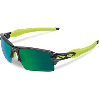 Oakley Flak 2.0 XL, black ink/jade iridium polarized - Sportbrille