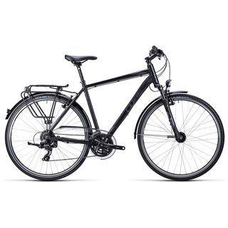 Cube Touring 2015, black grey white - Trekkingrad