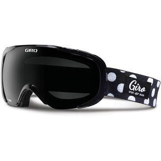 Giro Field, black dots/black limo - Skibrille