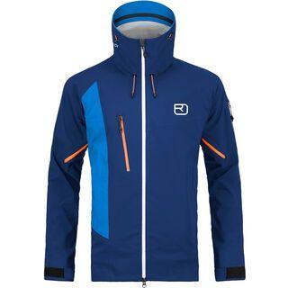 Ortovox 3L Merino Hardshell LA Grave Jacket M, strong blue - Skijacke
