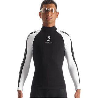 Assos LS.skinFoil earlyWinter S7, block black - Unterhemd