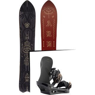 Set: Arbor Shreddy Krueger 2017 + Burton X-Base (1712954S)