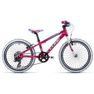 Cube Kid 200 2015, pink/white/blue - Kinderfahrrad