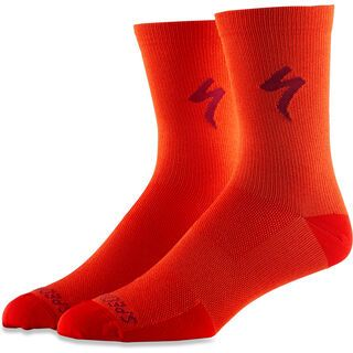 Specialized Soft Air Road Tall Sock, rocket red - Radsocken
