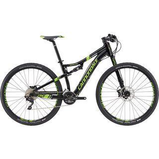 Cannondale Scalpel 4 29 2016, black/green - Mountainbike