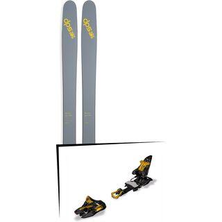 DPS Skis Set: Wailer 112 RPC Pure3 2016 + Marker Kingpin 13