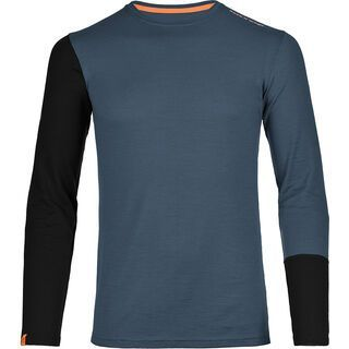 Ortovox Merino 185 Rock 'N' Wool Long Sleeve, night blue - Unterhemd