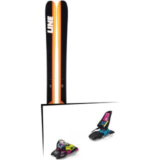 Set: Line Sick Day 94 2019 + Marker Squire 11 ID black/pink/blue
