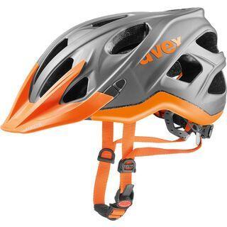 uvex stivo cc, gray-neon orange - Fahrradhelm