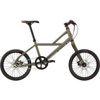 Cannondale Hooligan 1 2016, matt green - Urbanbike