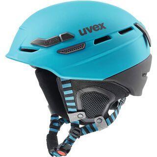 uvex p.8000 tour, petrol-black mat - Skihelm