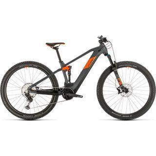 Cube Stereo Hybrid 120 Race 625 29 2020, grey´n´orange - E-Bike