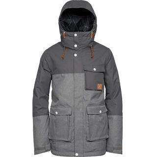 WearColour Horizon Jacket, grey melange - Skijacke