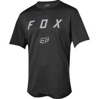 Fox Flexair SS Moth Jersey, black - Radtrikot