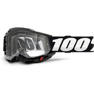 100% Accuri, black/Lens: clear - MX Brille