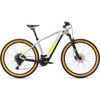 Cube Reaction Hybrid Pro 625 29 2021, grey´n´yellow - E-Bike