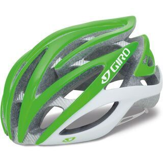 Giro Atmos, bright green limited - Fahrradhelm