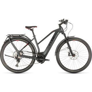 Cube Kathmandu Hybrid 45 Trapeze 2020, iridium´n´red - E-Bike