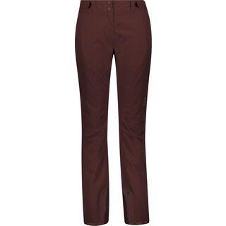 Scott Ultimate Dryo 10 Women's Pant, red fudge - Skihose