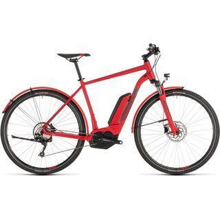 Cube Cross Hybrid Pro Allroad 400 2019, red´n´grey - E-Bike
