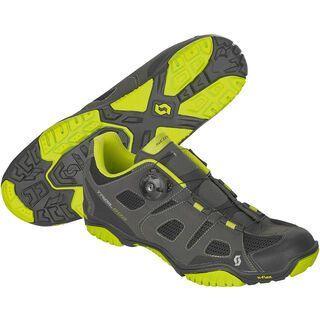 Scott Trail Boa EVO Shoe, black/lime green - MTB Schuhe