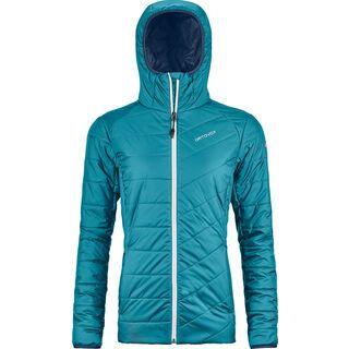 Ortovox Swisswool Piz Bernina Jacket W, aqua - Thermojacke