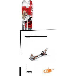 K2 SKI Set: Coomback 104 2016 + Marker Duke 16