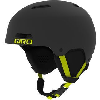Giro Ledge, black/citron - Skihelm