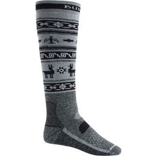 Burton Premium Midweight Socks, true black heather - Socken