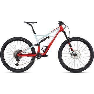Specialized Enduro FSR Pro Carbon 29/6Fattie 2017, red/blue/black - Mountainbike