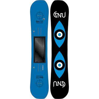 Gnu Space Case 2017, blue - Snowboard