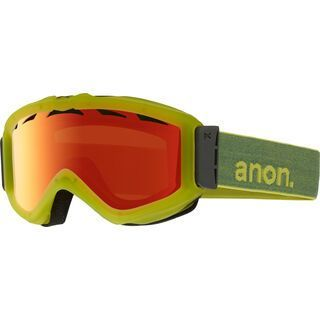 Anon Figment, Mellow Yellow/Red Solex - Skibrille