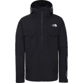 The North Face Men's Fourbarrel Triclimate, tnf black/tnf black tonal duck camo print - Skijacke
