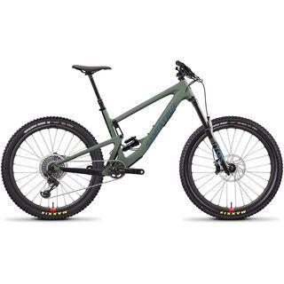 Santa Cruz Bronson CC X01 Reserve 2020, olive/blue - Mountainbike