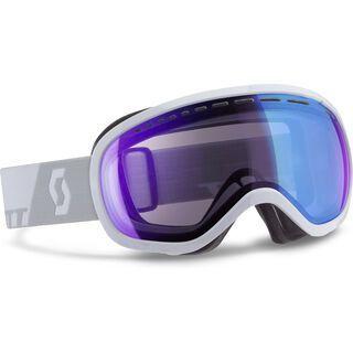 Scott Off-Grid, white/illimunator blue - Skibrille