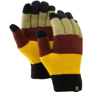 Burton Touch n Go Knit Glove, Ash Colorblock - Handschuhe