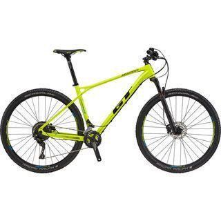 GT Zaskar Carbon Elite 9R 2017, yellow/black - Mountainbike