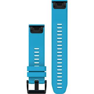 Garmin QuickFit Armband Silikon, blau - Zubehör