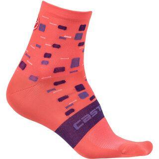Castelli Climber's W Sock, salmon - Radsocken