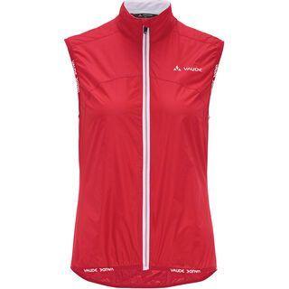 Vaude Women's Air Vest II, red - Radweste
