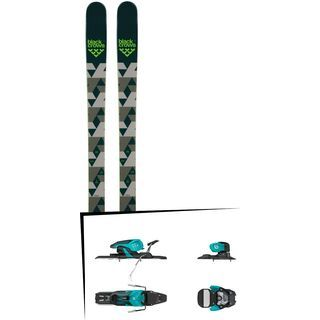 Set: Black Crows Magnis 2018 + Salomon Warden 11 turquoise/black