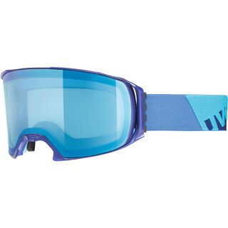 uvex craxx - FM Mirror Blue indigo mat