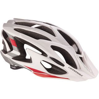 Cannondale Ryker, white/red - Fahrradhelm