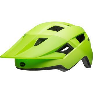 Bell Spark, green/black - Fahrradhelm